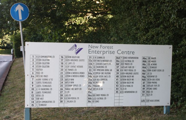 Businesses at New Forest Enterprise Centre